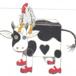 cut and paste cow002