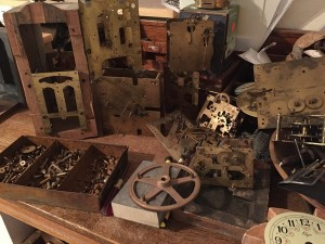 In Search of Lost Time Clock Parts