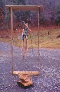 Men Leaving Threshold 1994