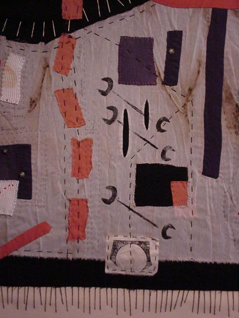 Men of Brasstown in textiles