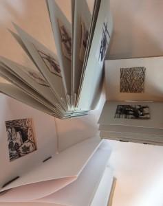 Three printmaking books for Baldessin inside
