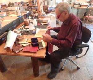 Gian Frontini in studio