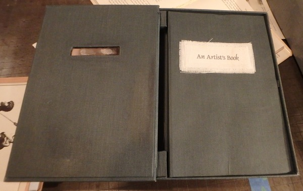An Artist Book Box open