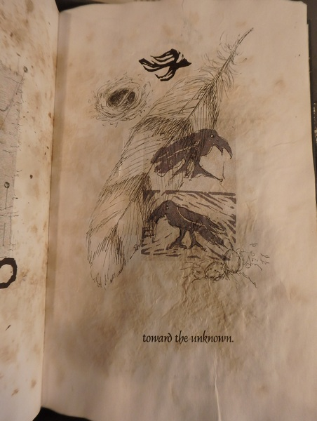An Artist Book toward the unknown