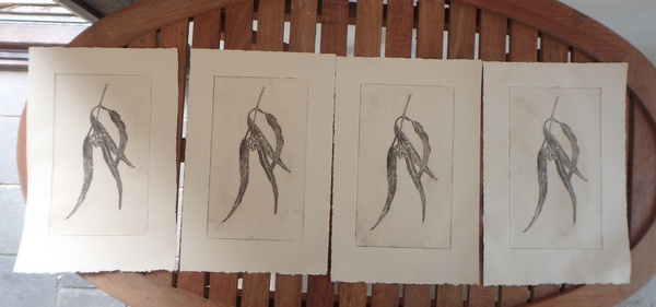 Etching four prints