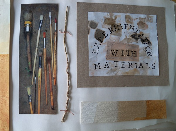 Experimentation with Materials cover page lo res