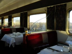 Ghan dining car
