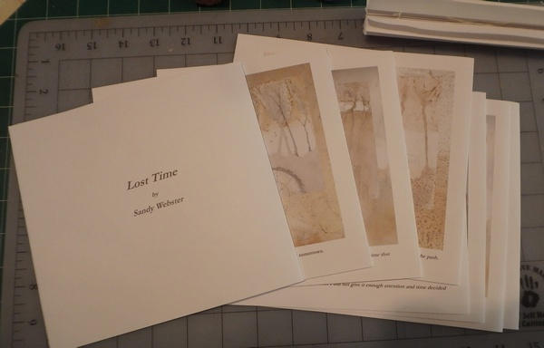 lost time folded foredge pages