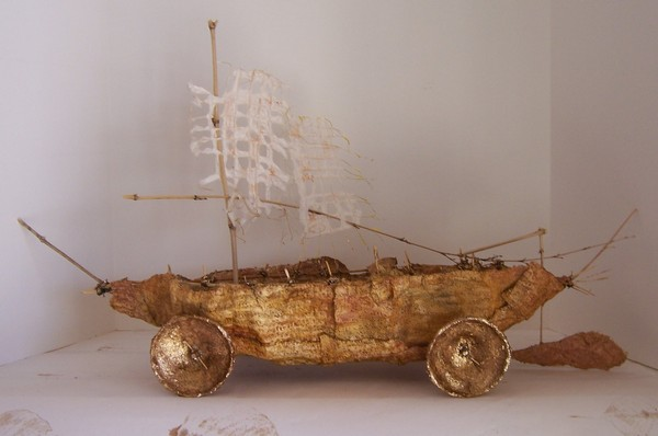 wheeled-boat